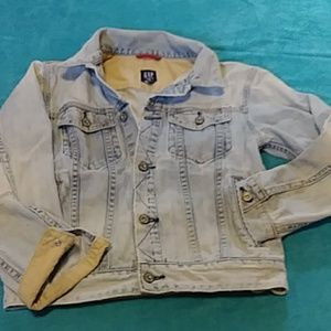 Gap vintage kids denim jean jacket girls